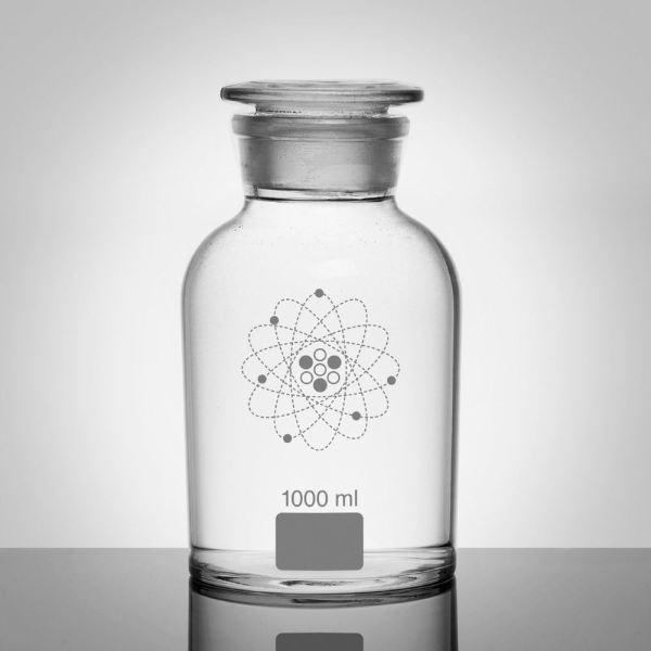 White Apothecary Jars
