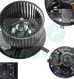 image is loading heater blower motor fan for audi a3 8p  [ 1600 x 1422 Pixel ]