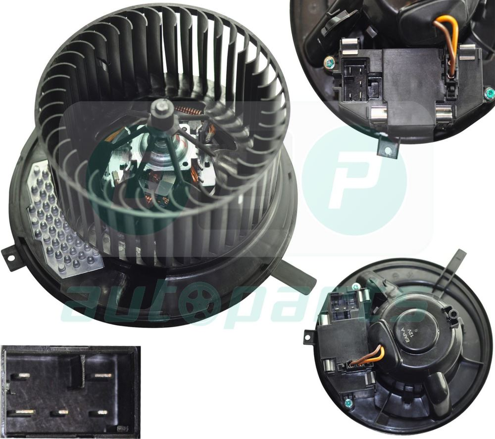 medium resolution of image is loading heater blower motor fan for audi a3 8p