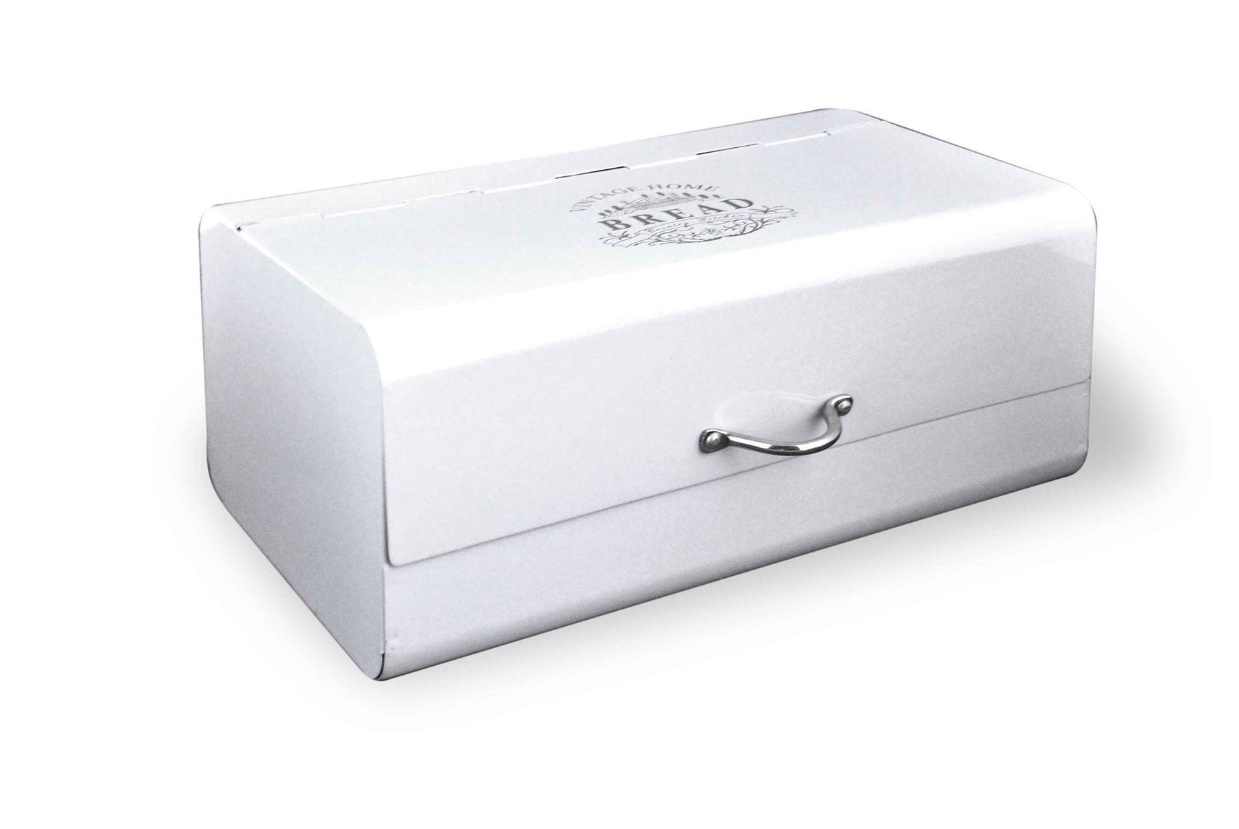 kitchen storage boxes tall table sets bread holder bin box vintage design home
