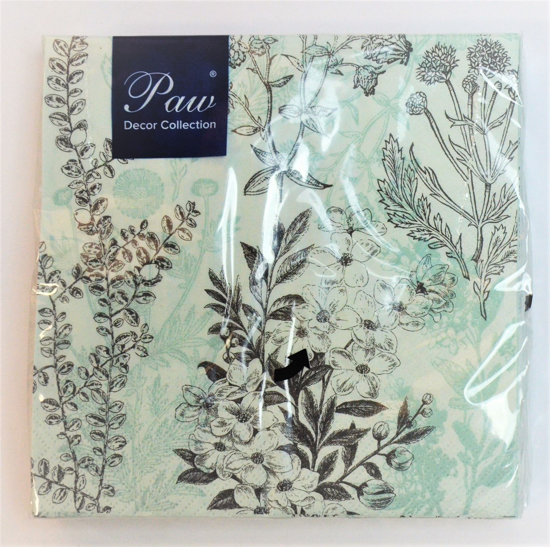 20 Pck Vintage Decorative Paper Napkins Decoupage Craft