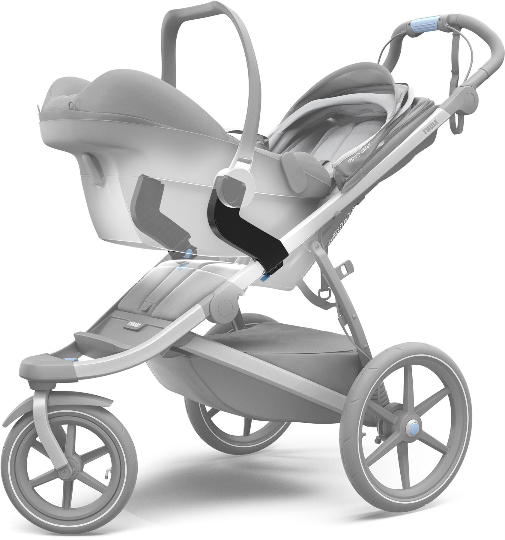 Kinderwagen Thule Details About Thule Urban Glide Car