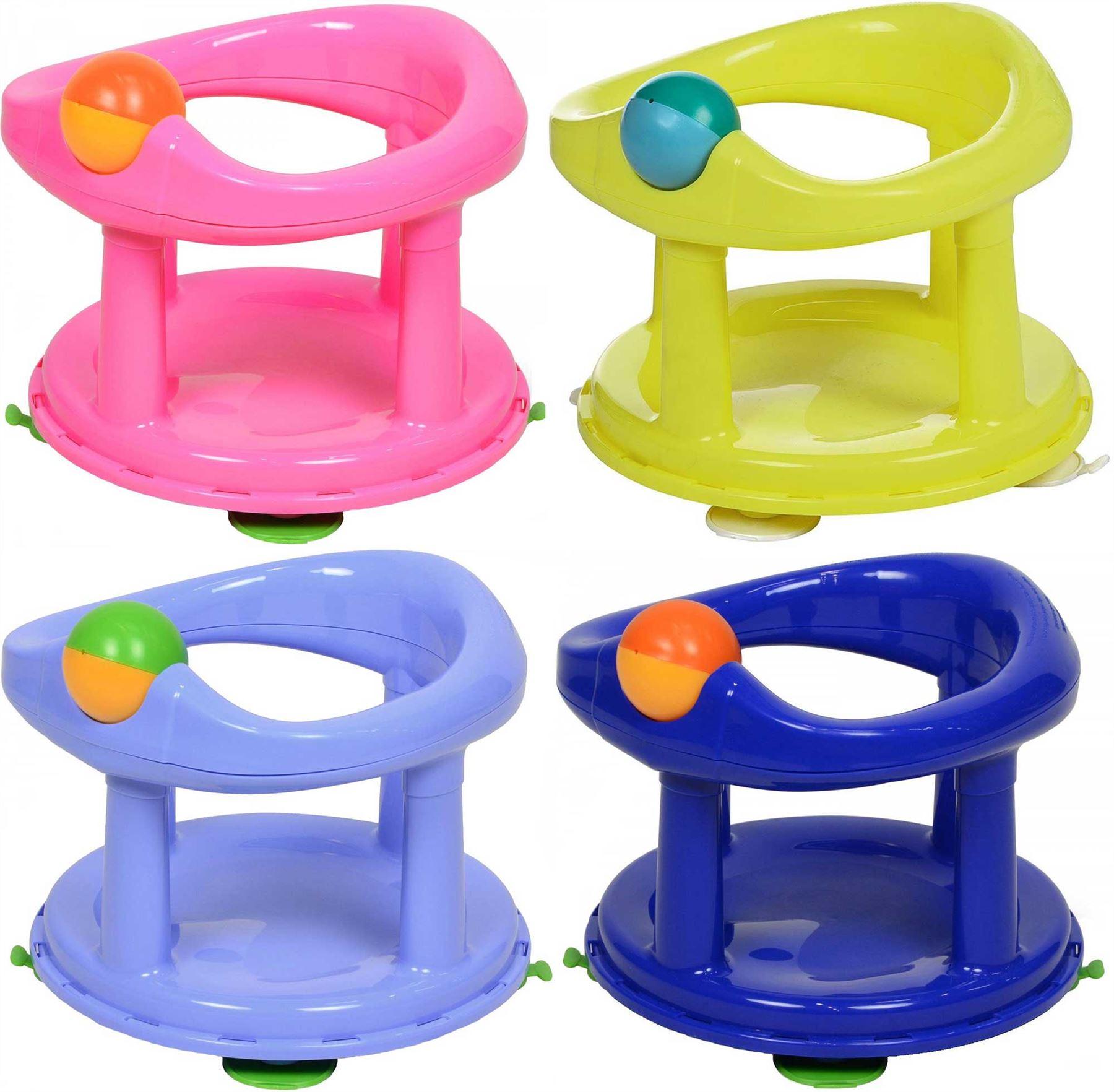 Safety 1st Swivel Bath Seat Baby Infant Tub Bathing ...