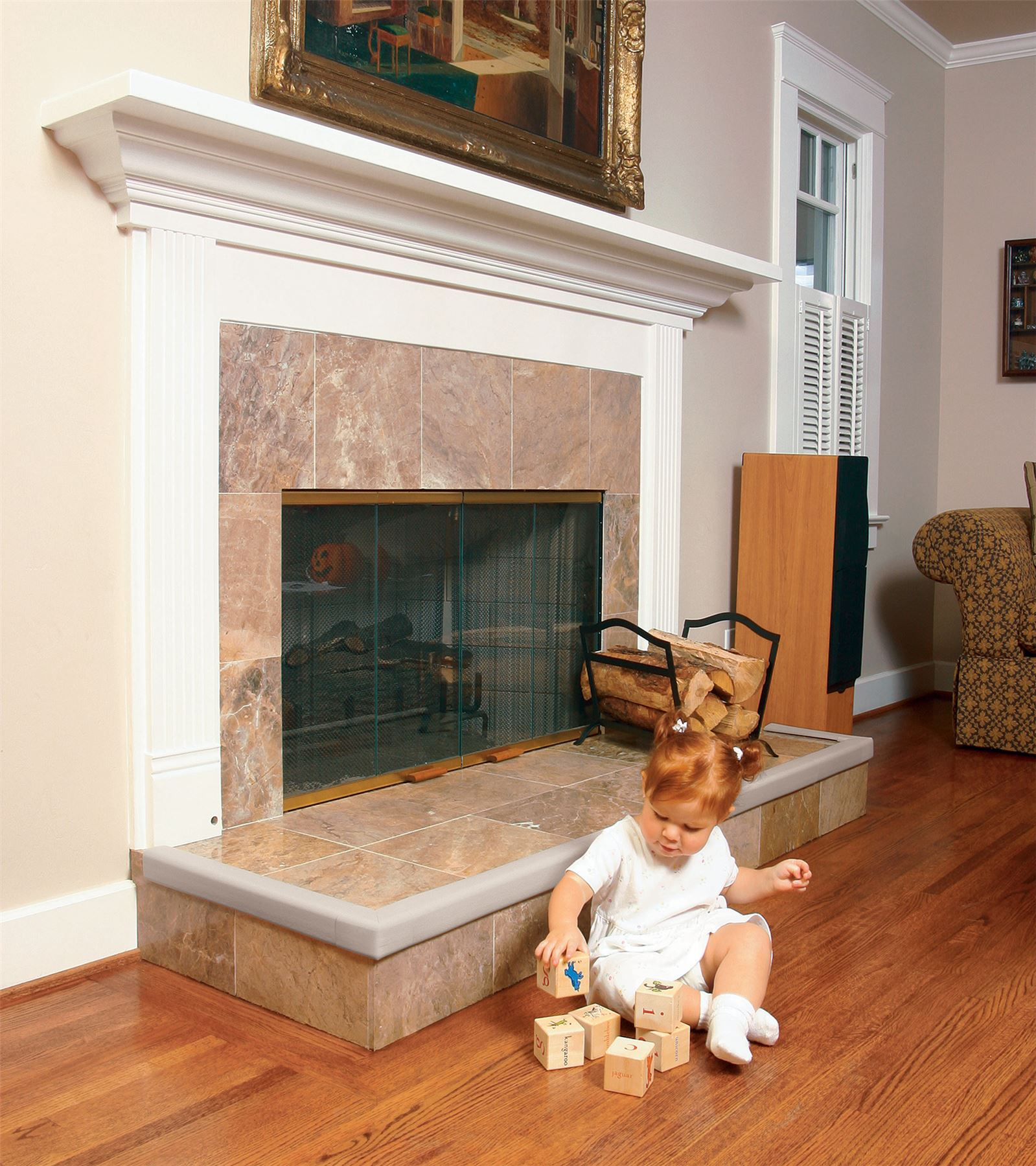 Prince Lionheart Fireplace Guards Baby Child Proofing