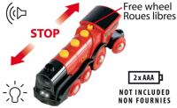 Brio Rote Actions Lokomotive Kinder Zug Holz Spielzeug