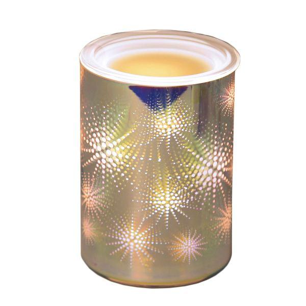 3d Electric Wax Melt Burner 16cm 13cm High Glass Tart