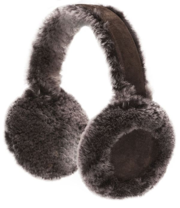 Nordvek Womens Genuine Sheepskin Earmuffs Warm Real Ladies