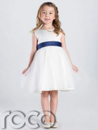 Ivory Flower Girl Dress, Girls Bridesmaid Wedding Party ...