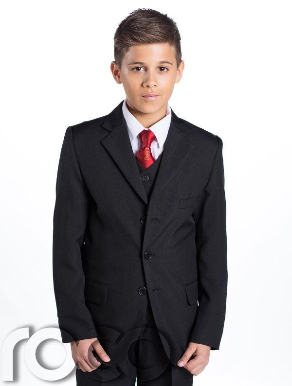 First Communion Boys Suits Black