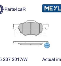 details about new brake pad set disc brake for honda accord vii cl cn k20a6 k24a k24a3 n22a1 [ 1006 x 792 Pixel ]