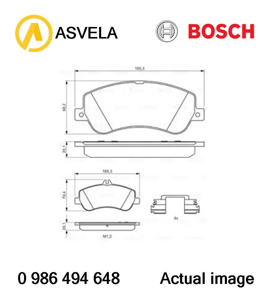 Brake Pad Set,disc brake for MERCEDES-BENZ GLK-CLASS,X204