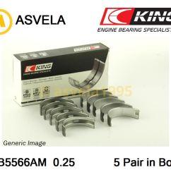 details about main shell bearing set 0 25mm for skoda octavia octavia combi felicia i agr [ 1050 x 872 Pixel ]
