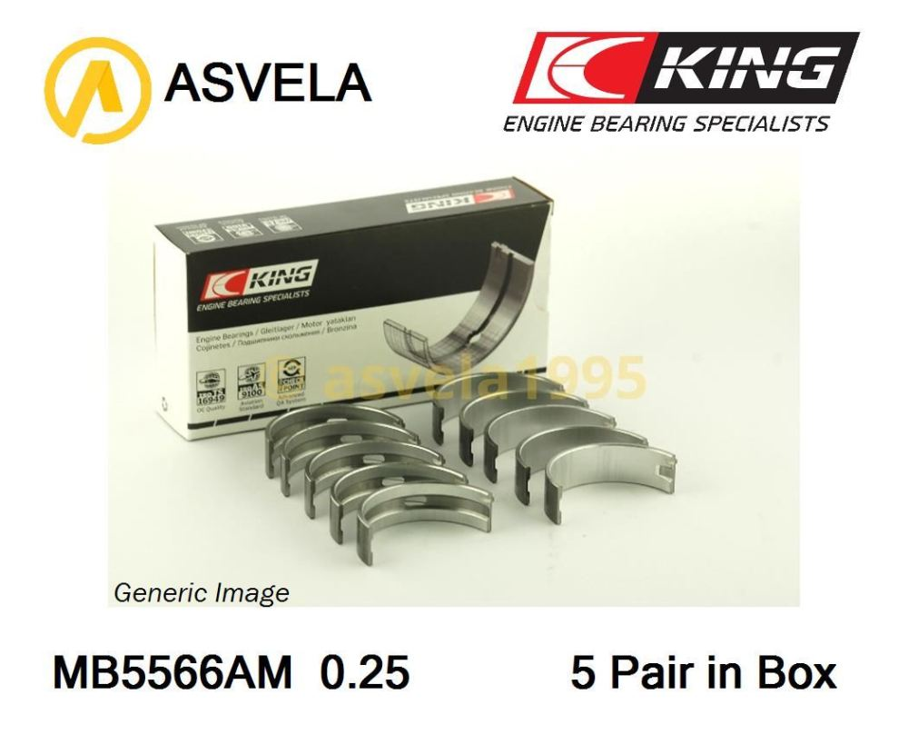 medium resolution of details about main shell bearing set 0 25mm for skoda octavia octavia combi felicia i agr