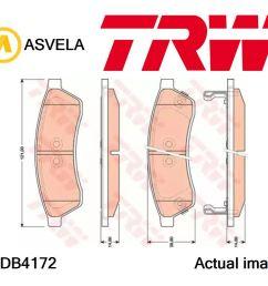 details about brake pad set disc brake for chevrolet daewoo chevrolet sgm epica kl1 x 20 d1 [ 1143 x 1000 Pixel ]