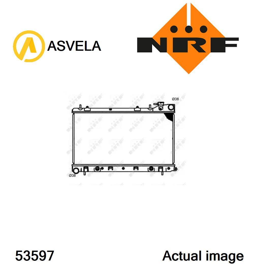 hight resolution of details about radiator engine cooling for subaru forester sg ej201 ej205 ej25 nrf 53597