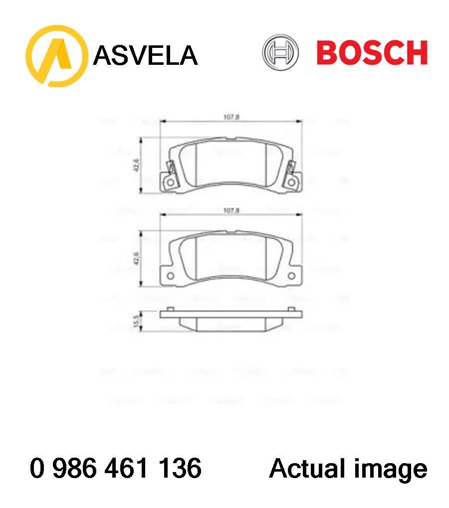 Brake Pad Set,disc brake for TOYOTA,LEXUS COROLLA,E9,4A-F