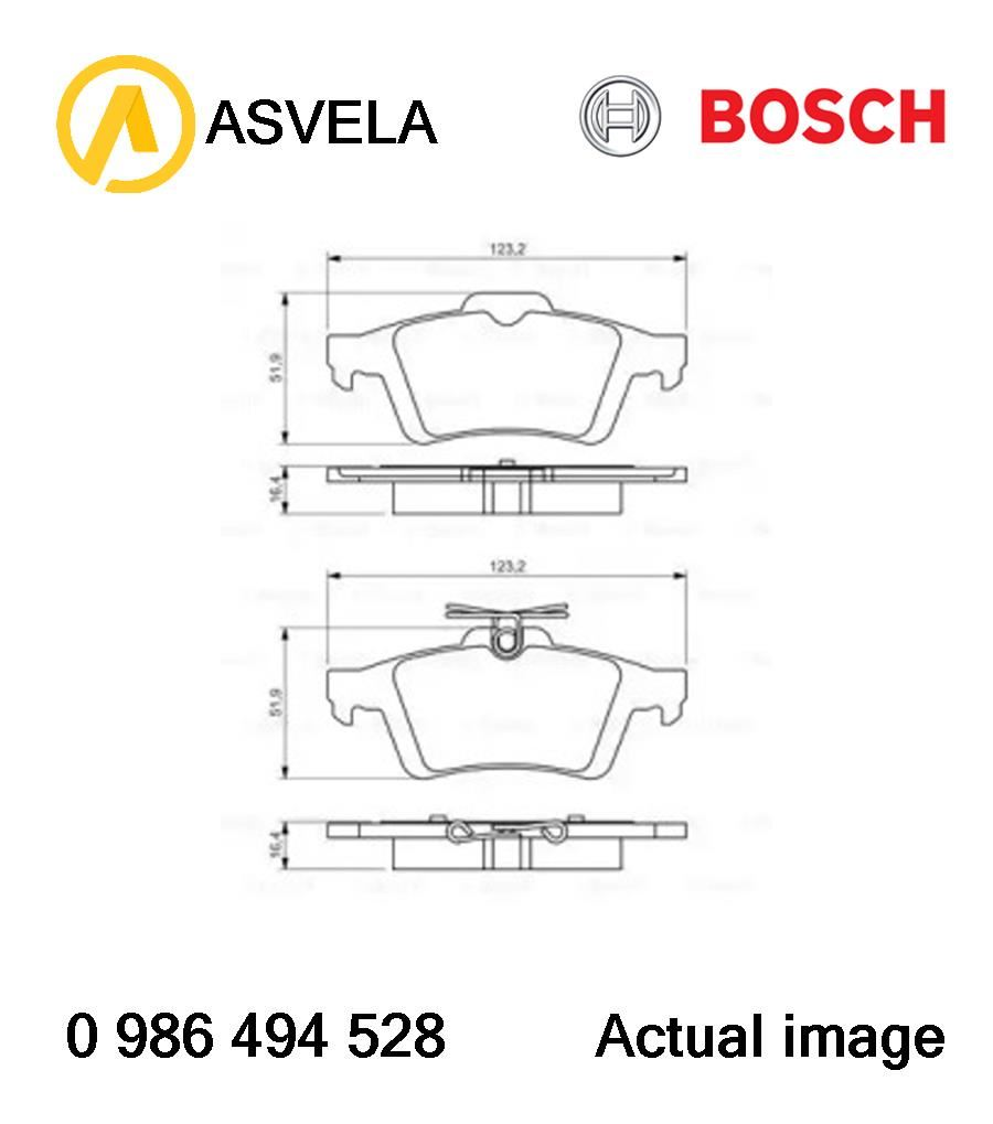 hight resolution of details about brake pad set disc brake for ford peugeot volvo ford australia pnda iqda iqdb