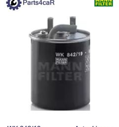 details about new fuel filter for jeep grand cherokee ii wj wg enf mannfilter wk84219 [ 969 x 1216 Pixel ]