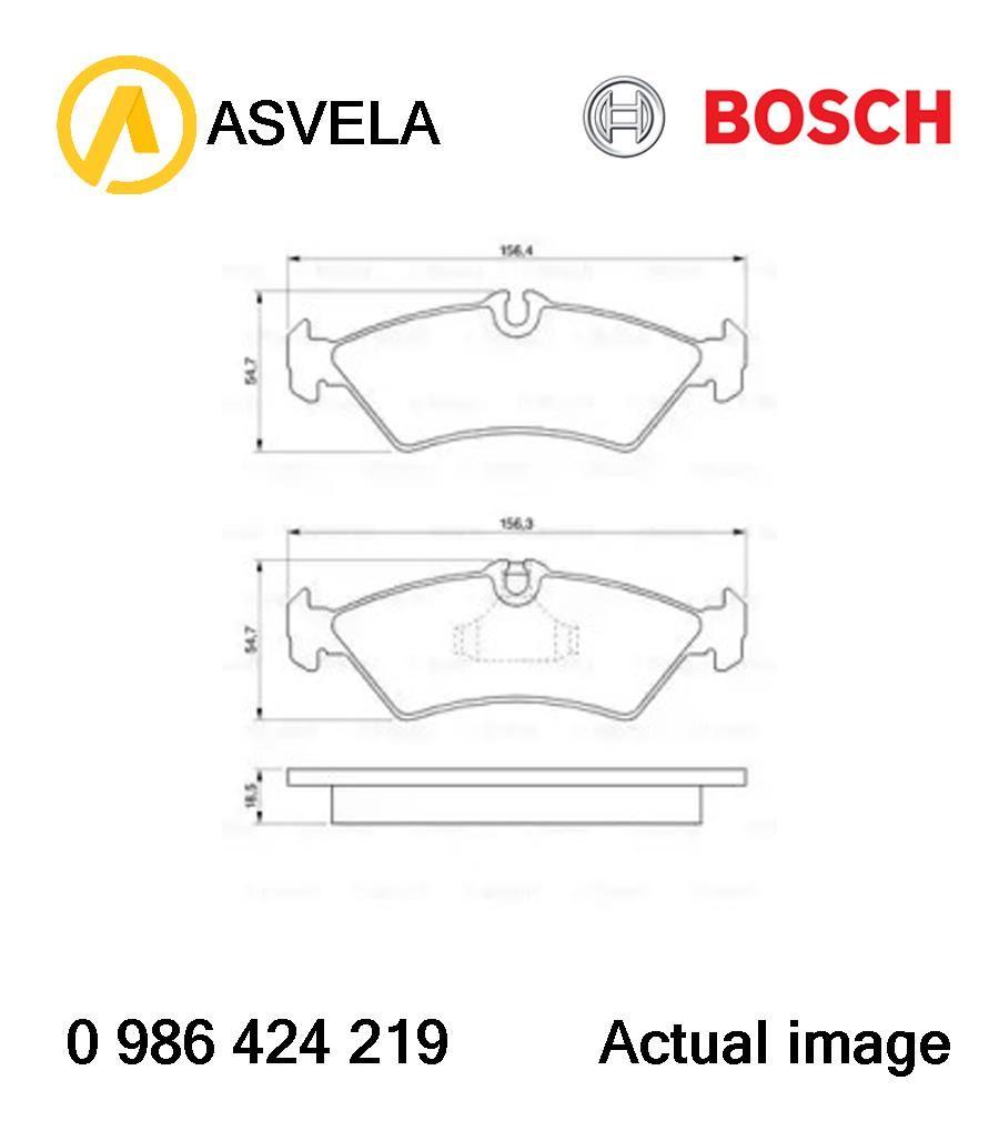 Brake Pad Set,disc brake for MERCEDES-BENZ,VW SPRINTER 2-t