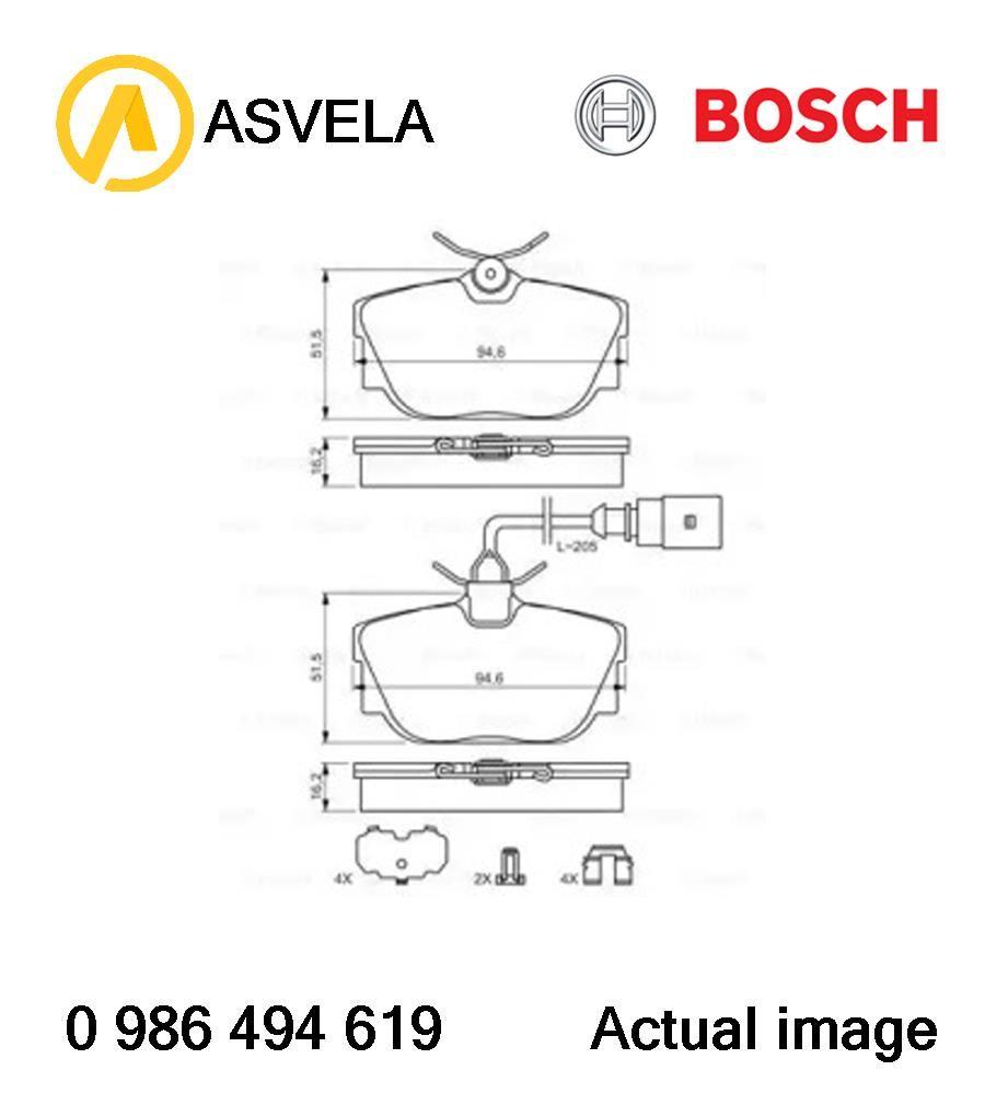 Brake Pad Set,disc brake for VW TRANSPORTER IV Bus,70XB
