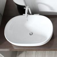 Durovin Bathroom Ceramic CounterTop Wash Basin Sink Wash