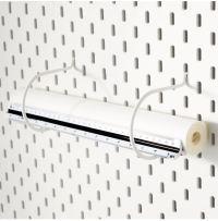 IKEA SKADIS Pegboard, wall organiser & storage, clips ...