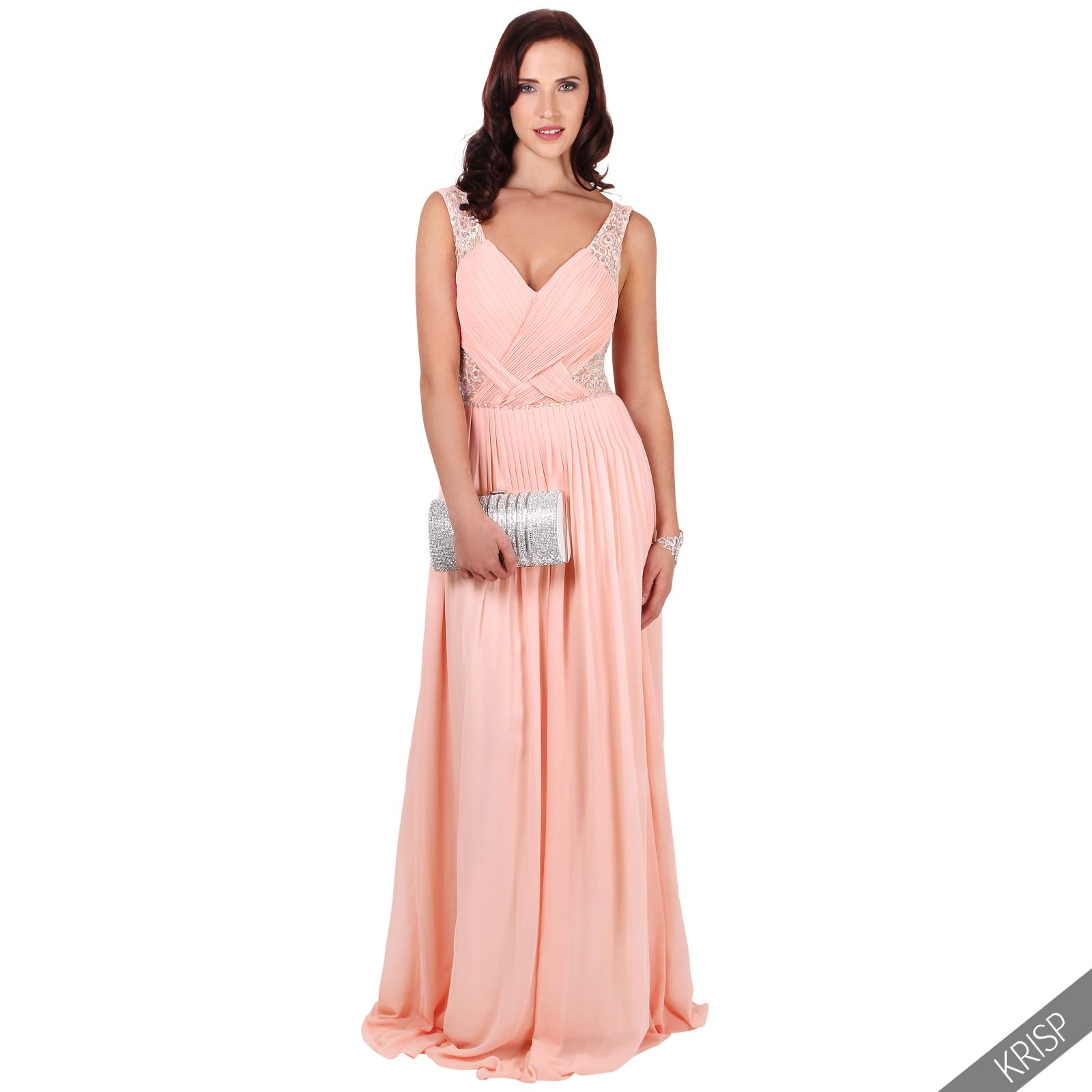 Ladies Long Formal Prom Maxi Dress Evening Ball Gown
