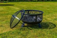 BBQ Barbeque Charcoal Burner Grill Firepit Steel Outdoor ...