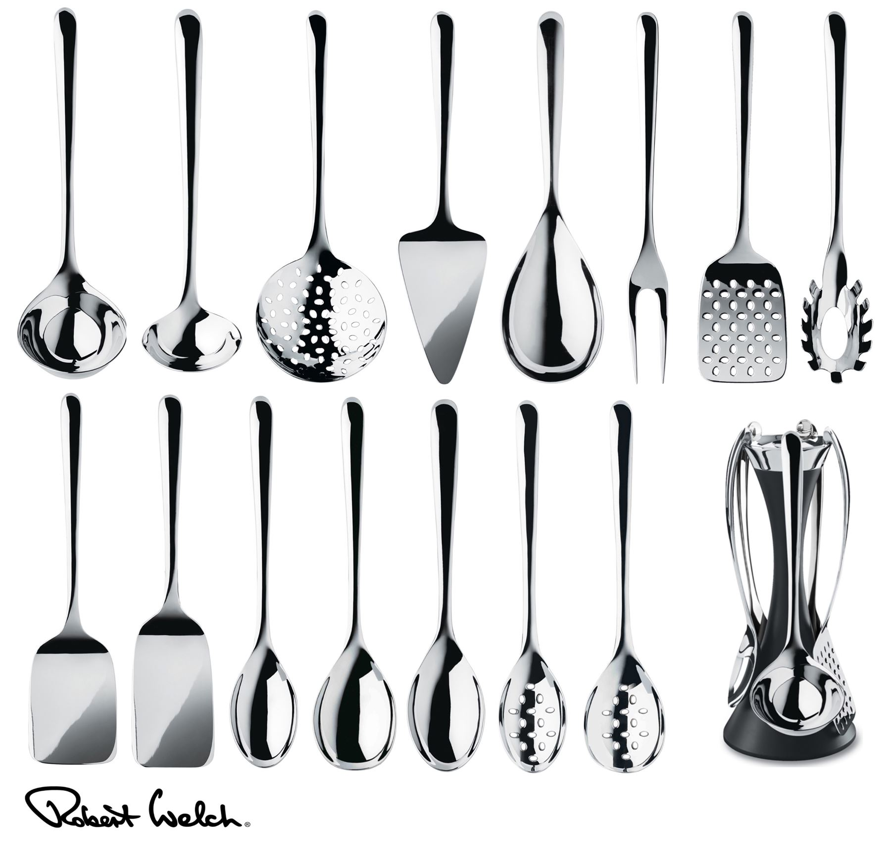 kitchen utensils set garden window robert welch signature spoon turner or server etc
