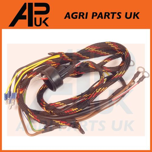 small resolution of details about massey ferguson 35 35x tractor ad3 152 perkins engine wiring harness loom mf 35 wiring harness