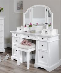 Gainsborough white dressing table set.Dressing table ...