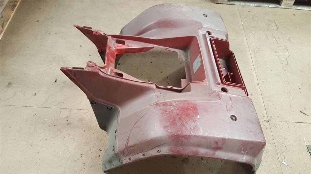 medium resolution of details about kawasaki klf 300 rear plastics atv fender