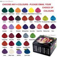 Box of 4 Pots La Riche Directions Semi-Permanent Hair Dye ...