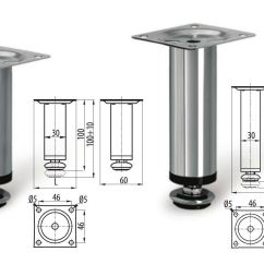 Kitchen Cabinets With Legs Square Wall Clocks Adjustable Plinth Leg For Cabinet Furniture Sofa