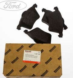 details about genuine ford galaxy mk1 2 0 2 3 front brake pads kit 115 145 bhp 00 06 1947391 [ 1800 x 1800 Pixel ]