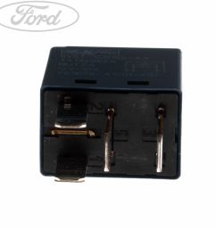 details about genuine ford fiesta mk7 starter motor relay 30 amp 4 blade micro tyco 1667949 [ 1536 x 1536 Pixel ]