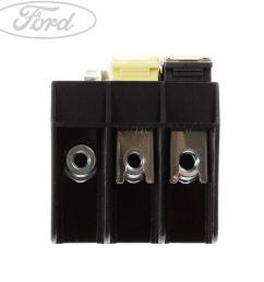 genuine ford ka mk1 fuse junction panel 1039794 [ 1800 x 1800 Pixel ]