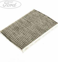 details about genuine ford fiesta mk7 mk8 b max carbon cabin pollen odour filter 1566997 [ 1800 x 1800 Pixel ]