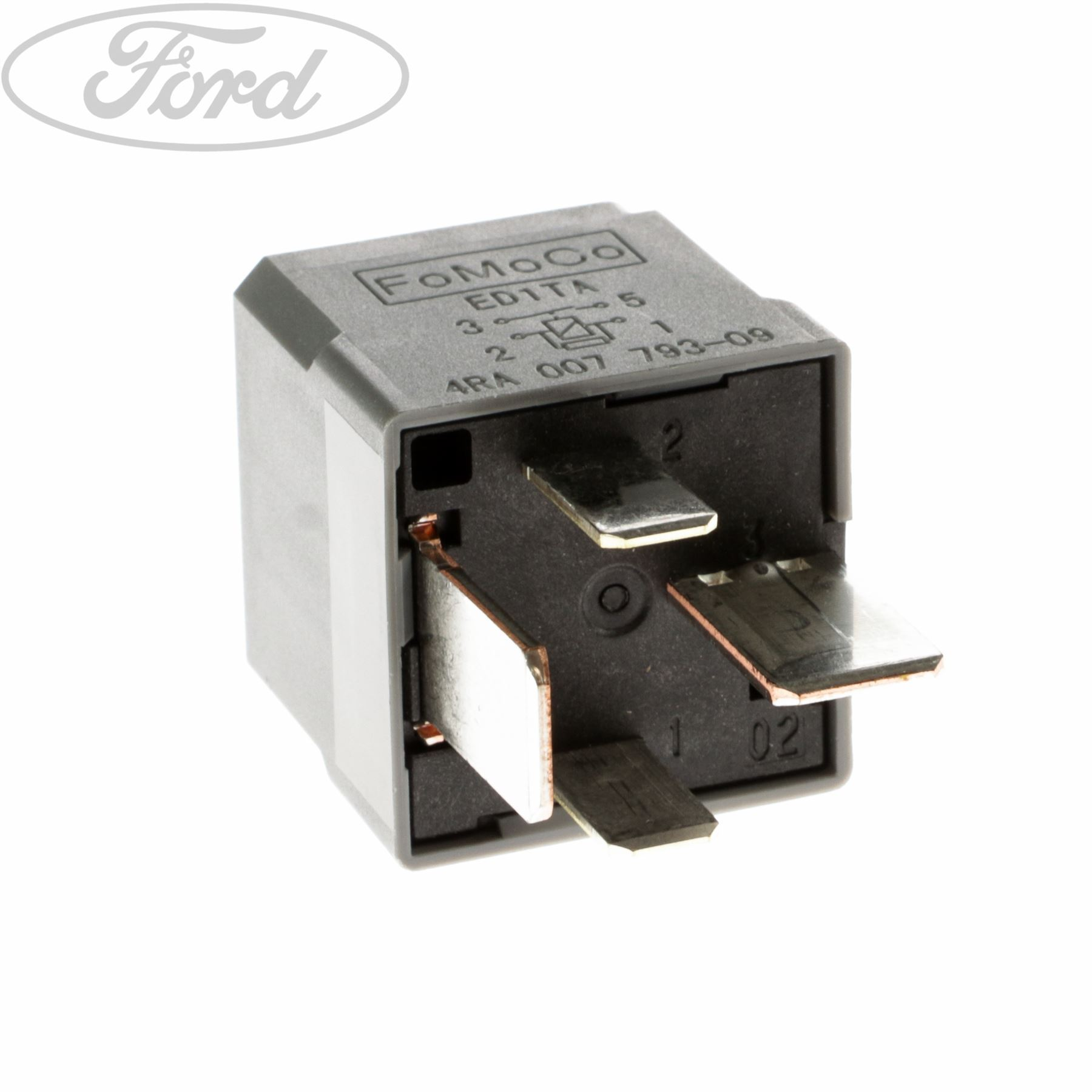 hight resolution of details about genuine ford mondeo s max transit mk7 relay 70 amp hella mini 4 terminal 1433498