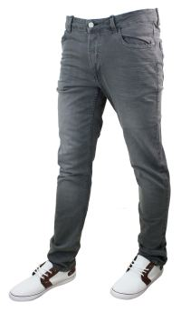 Mens Denim Skinny Stretch Slim Fit Jeans All Waist Sizes ...