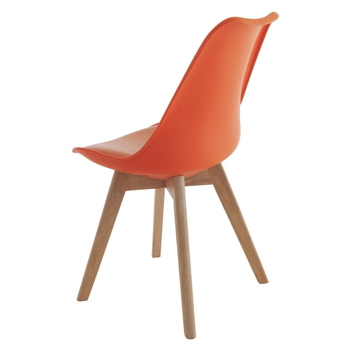 tulip dining room chairs hanging chair domayne office with solid wood legs