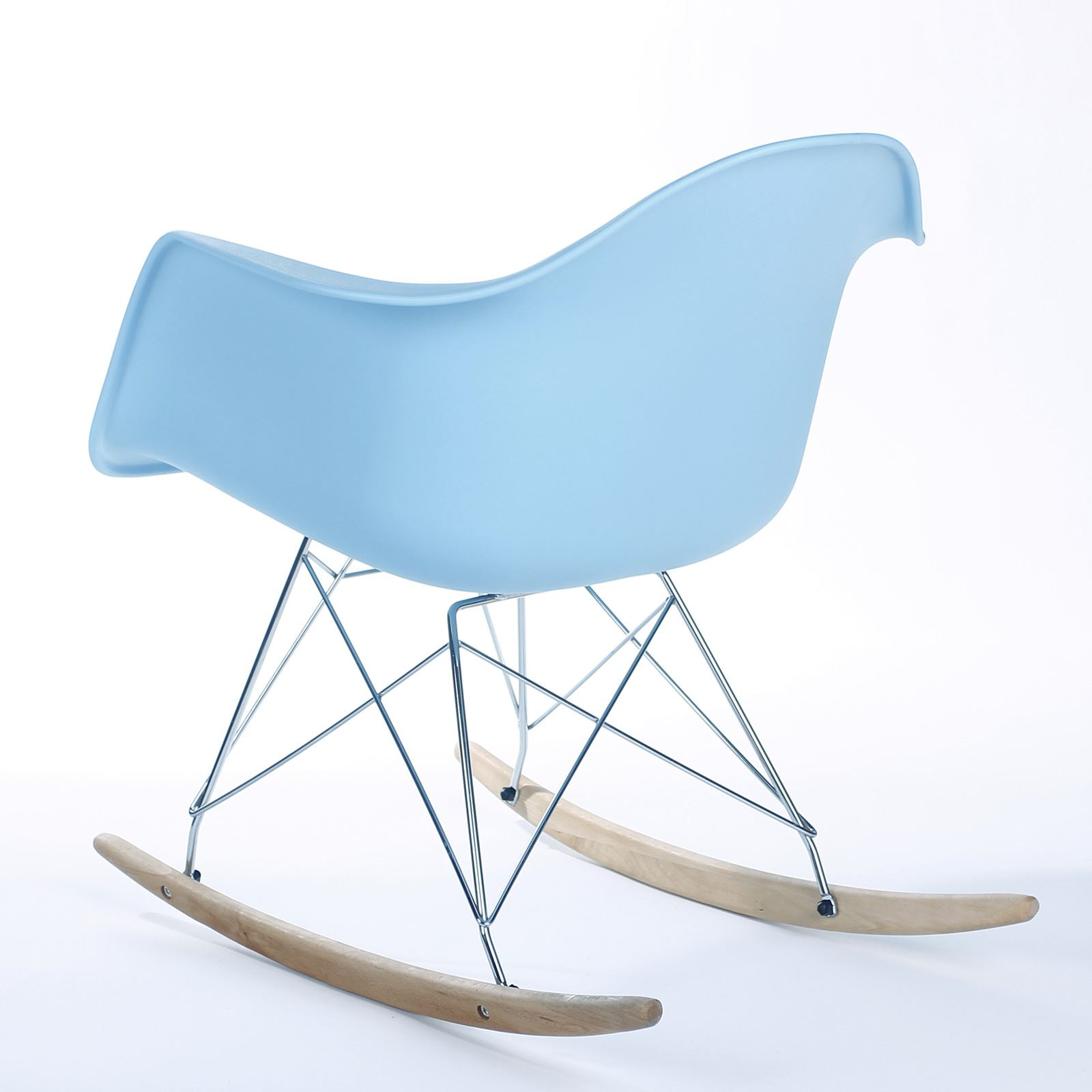 banana fiber rocking chair giant bean bag chairs eames rar rocker armchair retro modern