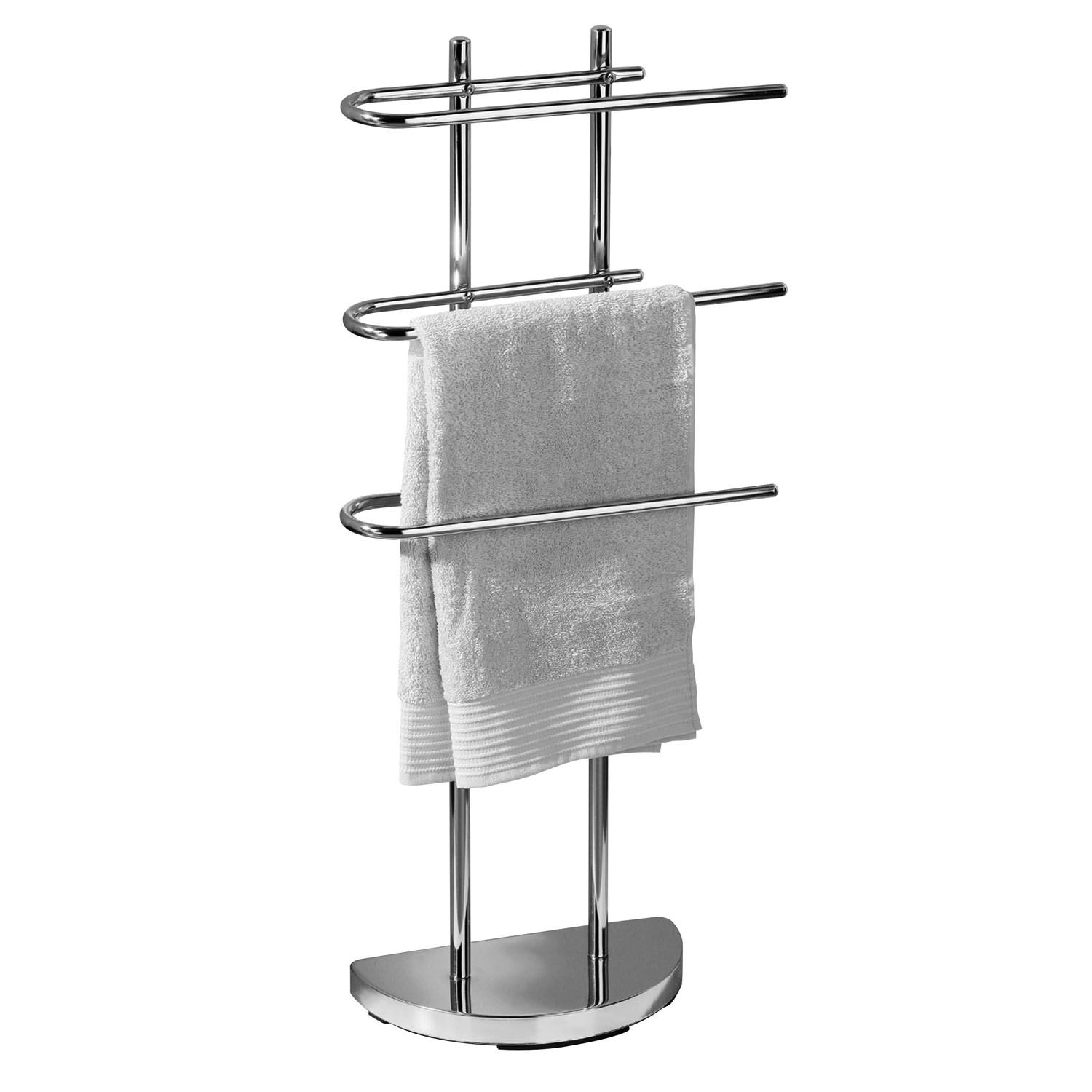 Bathroom Towel Stand Details About Free Standing 3 Arm Towel Rail Chrome Bathroom Towel Holder Rail Rack Stand New