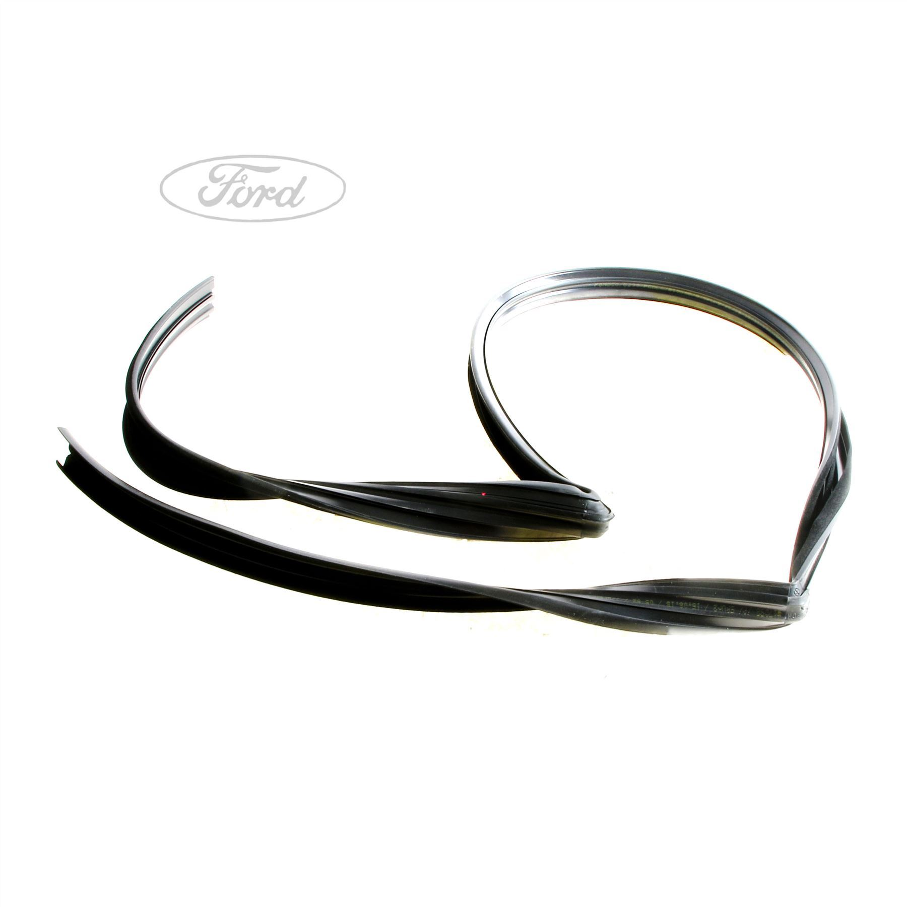 hight resolution of details about genuine ford fiesta mk7 n s front door glass run seal 1767197