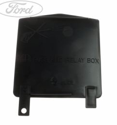 details about genuine ford ka additional fuse box cover 1633886 [ 1768 x 1768 Pixel ]