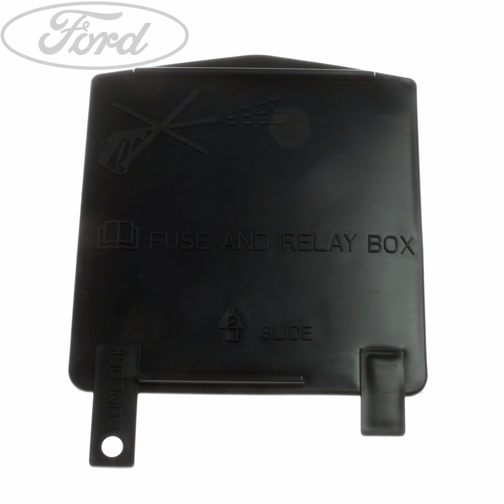 hight resolution of details about genuine ford ka additional fuse box cover 1633886