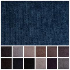 Chenille Sofa Fabric Care Wood Frame Bed Luxury Plain Fire Retardant Velvet Seating