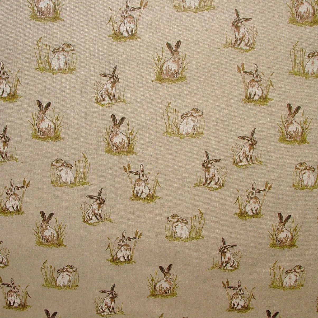 printed fabric sofa designs newport gumtree vintage linen look country side animals digital print