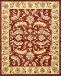 Traditional Style Persian Design Floral Area rug Large ...