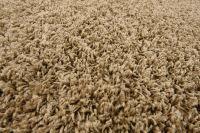Dark Beige Shaggy Rug Warm Soft Fluffy Carpet Modern Area ...